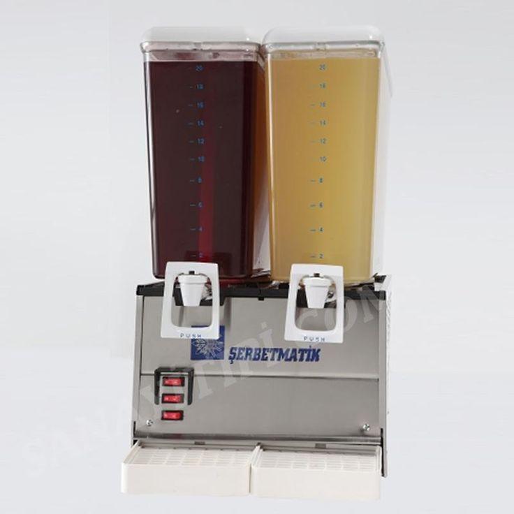 İkili Şerbetlik Limonata Makinası » şerbetlik ayranlık - Sanayi tipi