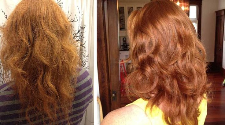"""Há 18 meses ela só lava o cabelo com bicarbonato de sódio e vinagre de maçã. Mulher deixa de usar xampu e opta por um """"produto"""" inusitado. Isso é o que aconteceu com seu cabelo"""