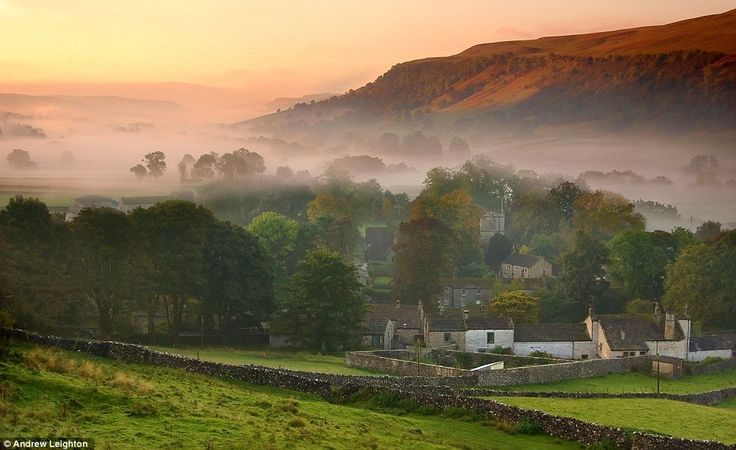 I love this so much, it's just beautiful! Kettlewell, Wharfedale in the Yorkshire Dales, England