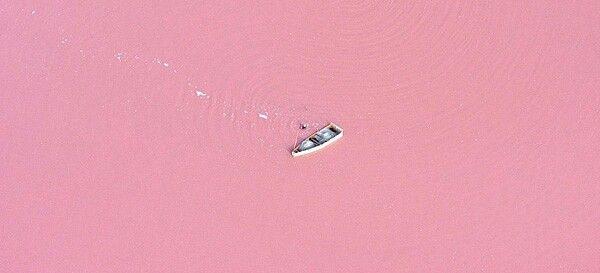 Розовое озеро Ретба Сенегал