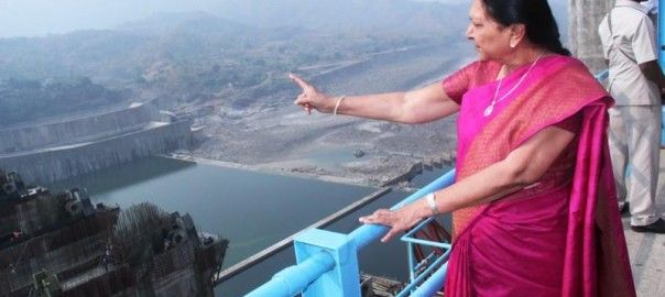 Anandiben Patel visits #Narmada #Dam site prior to Indian #TourismDay