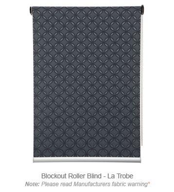 Roller Blinds Blockout - La Trobe #roller #blinds