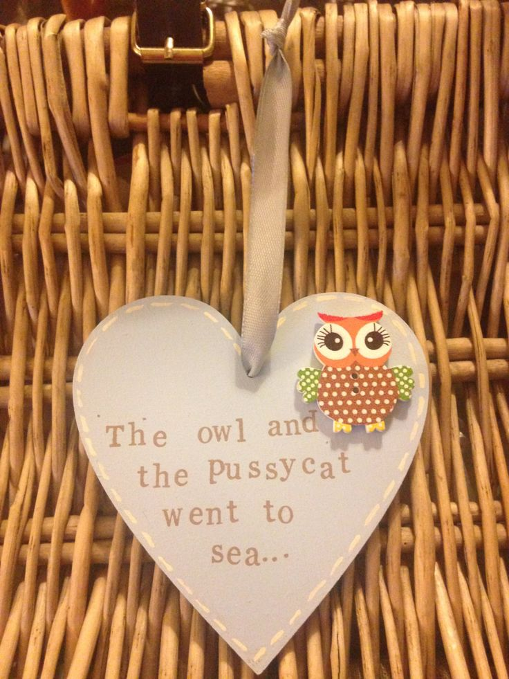 A personal favourite from my Etsy shop https://www.etsy.com/uk/listing/289794331/owl-and-the-pussycat-heart-shaped