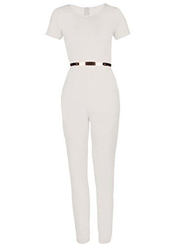 Womens Ladies Cream Cap Sleeve Gold Belted Celebrity Style Party Evening Jumpsuit. Size:12 First Love http://www.amazon.co.uk/dp/B012J3Z4JW/ref=cm_sw_r_pi_dp_C1PTvb0HNFPNX