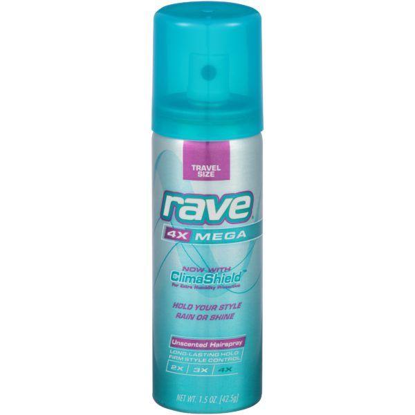 Easy Freebie! Grab FREE Rave Hairspray at Walmart!