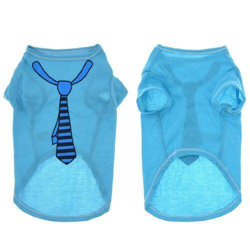 """Aus der Kategorie Shirts, Sweater & Hoodies  gibt es, zum Preis von EUR 6,23  Hund Chihuaha Sommer Kurze Ärmel T-shirt Haustier Welpen Kleidung Blau L<br/><br/> - Produktname : Hunde-Shirt;Größe : <span style=""""farbig: rgb(255, 0, 0);""""><b>L</B>,ze L)<br/> - Material : Polyester;Hals-gurt : 28cm /39.1cm<br/> - Brust-gurt : 43cm / 13"""";Länge : 33cm / 33cm<br/> - Hund Weigt : <spannweite stil=""""schriftfamilie: Arial;"""">4,5 kg / 4,5 kg</Spannweite>;Hauptfarbe : <stark><Spannweite Stil=""""farbe…"""
