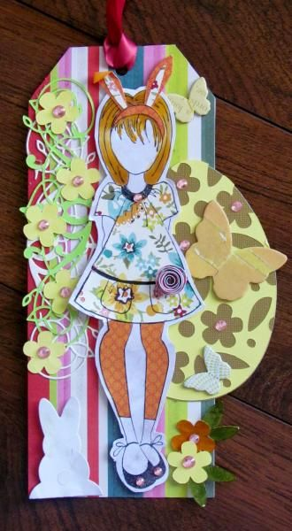 Easter Prima Doll | Wendy Schultz - Easter Cards & Décor.