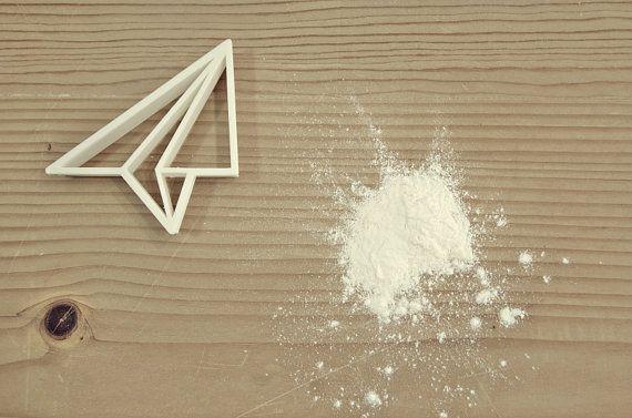 Stampo per Biscotti - Origami Aeroplano