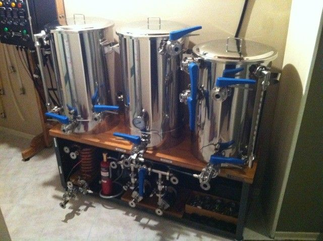The Underground Brewery - Brilliant! need to work on my O2 setup like this.