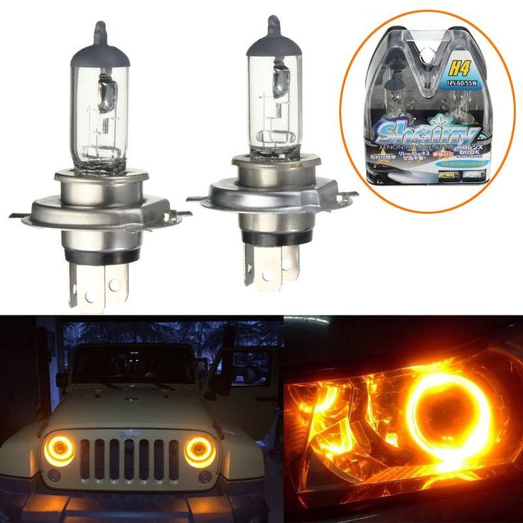 H4 12V 60/55W Yellow Halogen Headlight Replacement Bulb Lamp For Auto Car Truck  Worldwide delivery. Original best quality product for 70% of it's real price. Buying this product is extra profitable, because we have good production source. 1 day products dispatch from warehouse. Fast &...