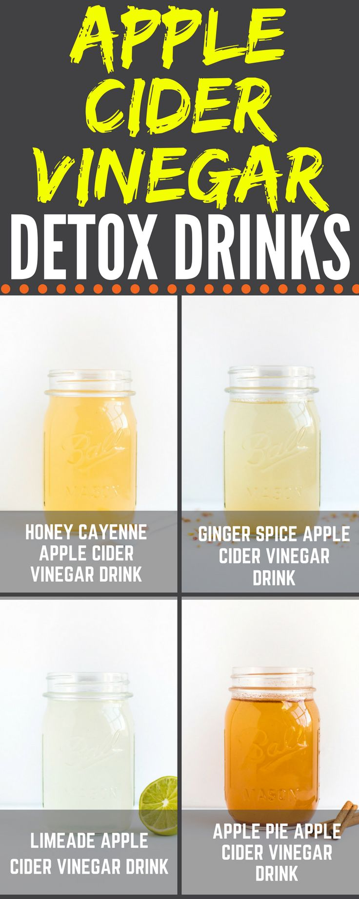 Apple Cider Vinegar Drinks For Ed
