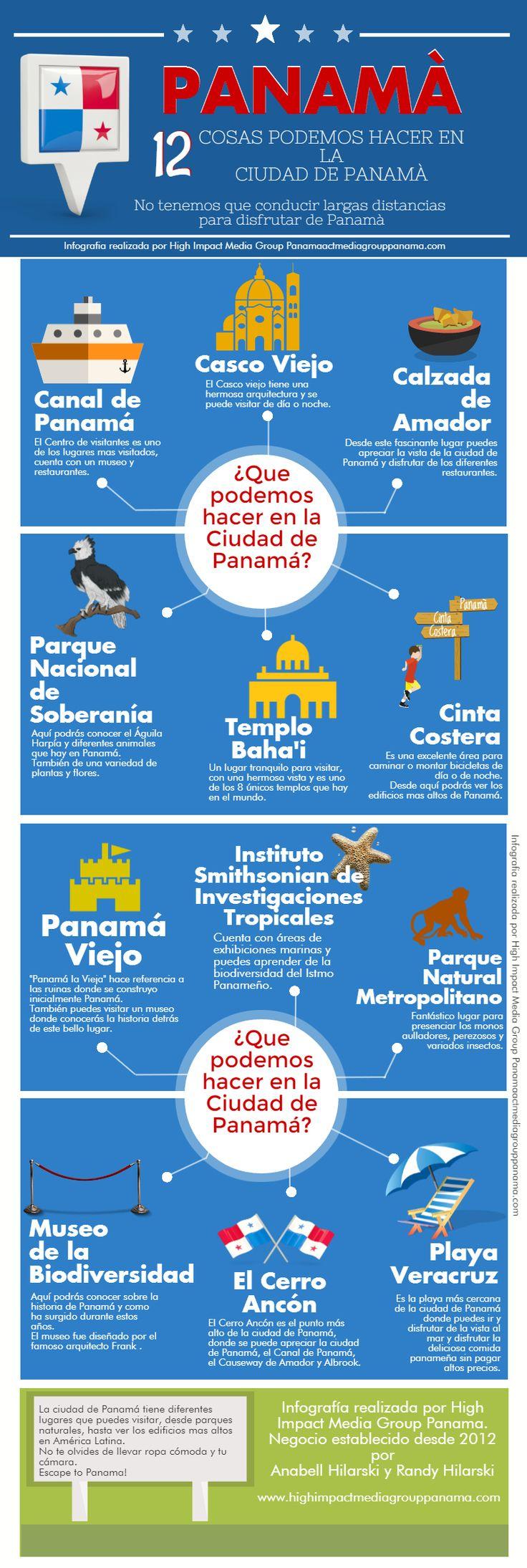 12 Cosas Podemos Hacer en la Ciudad de #Panamá - @HIMGPanama 12 Things to do in Panama CIty, Panama