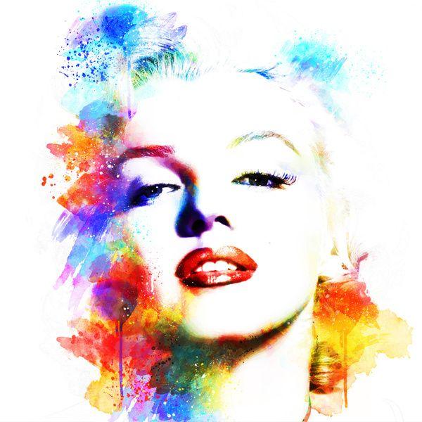Marilyn Monroe by Michael Akers