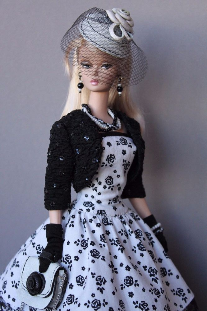 Ooak outfit fashion for silkstone vintage barbie barbie clothes barbie dolls barbie - Barbie barbie barbie barbie barbie ...