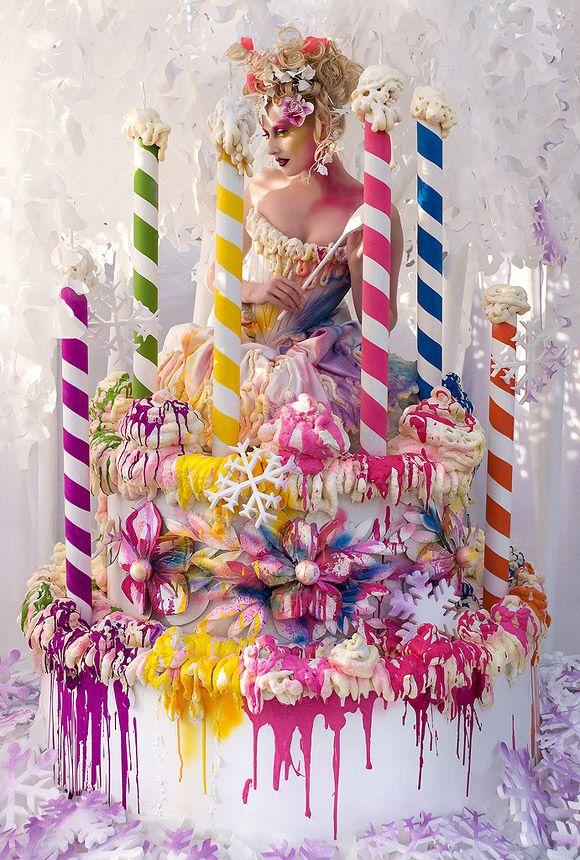 Oltre 25 fantastiche idee su torte di compleanno ragazza - La ragazza alla finestra dali ...