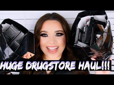 HUGE Drugstore Makeup HAUL! CVS MUA Makeup Academy - YouTube