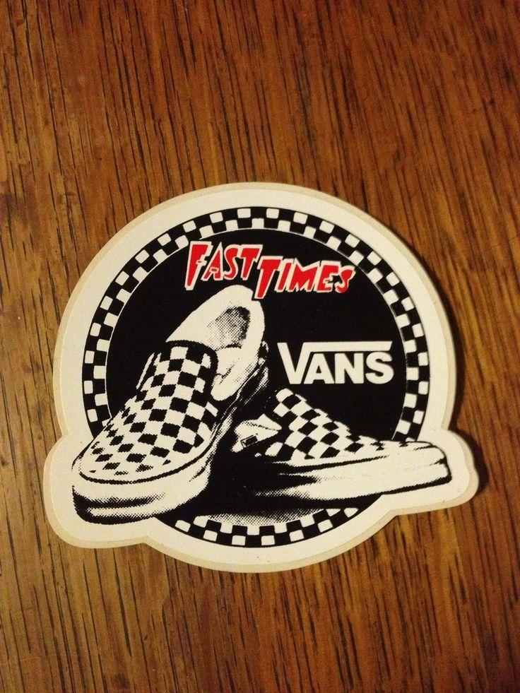 Vintage Skateboard Sticker Vans Alva G s Sims Hobie Powell Skate Shoes | eBay
