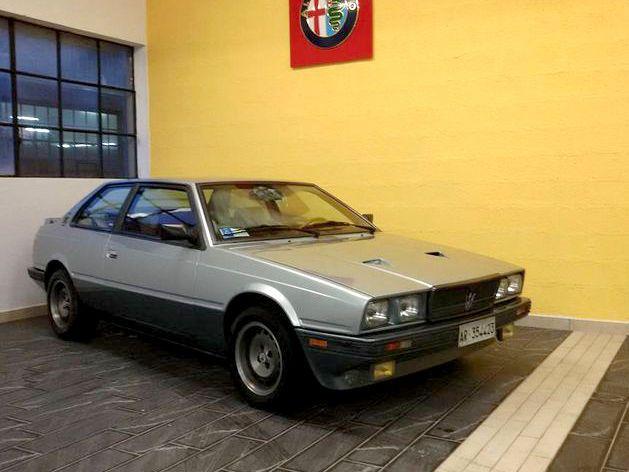 Maserati Biturbo SI Coupé - 1987   Youngtimer
