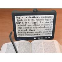 Bierley Shoppa Portable Electronic Magnifier, Variable Magnification: 5x to 9x, Each, BV500 - http://healthandsciencestore.com/HealthStore/bierley-shoppa-portable-electronic-516668964/