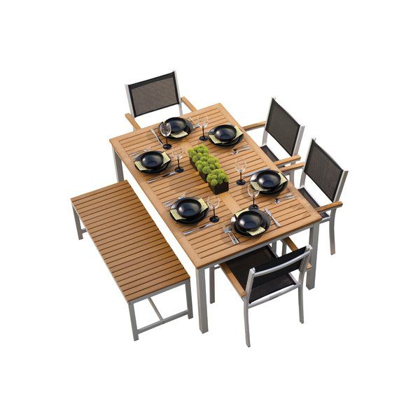 You'll love the Farmington 6 Piece Dining Set at AllModern - With Great Deals on modern Outdoor products and Free Shipping on most stuff, even the big stuff.