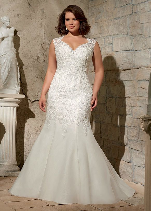 Beautiful Dress style From the Julietta plus size collection by Mori Lee