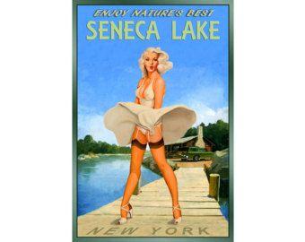 Seneca lake | Etsy