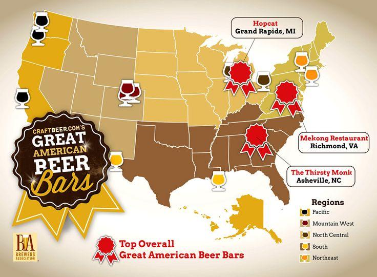 HopCat named #2 FAVORITE BEER BAR IN THE U.S. by CraftBeer.com