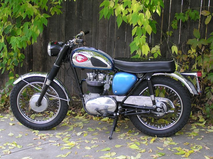 bsa motorcycles | 1962 BSA B40 Pictures