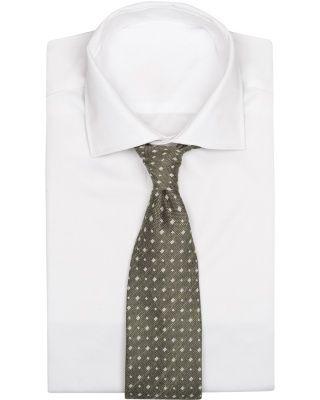 Eton Dot 8 cm Tie Green