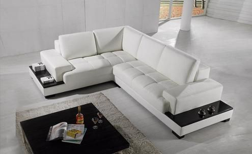 Free Shipping Modern Sofa Set Made With Genuine Leather Corner Sofa Wi Shop For Elec Modern Leather Sectional Sofas Leather Corner Sofa Modern Sofa Sectional