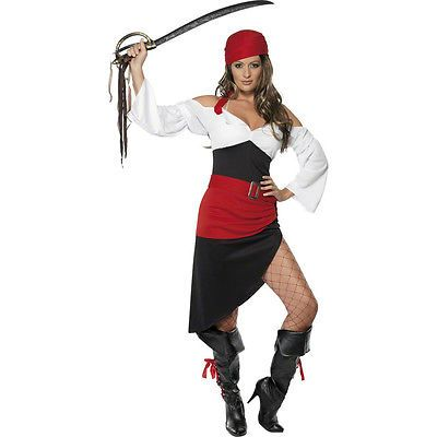 Piratin Kostüm Piratenbraut Piratenkostüm Damen Piratinkostüm Seeräuberin Outfit