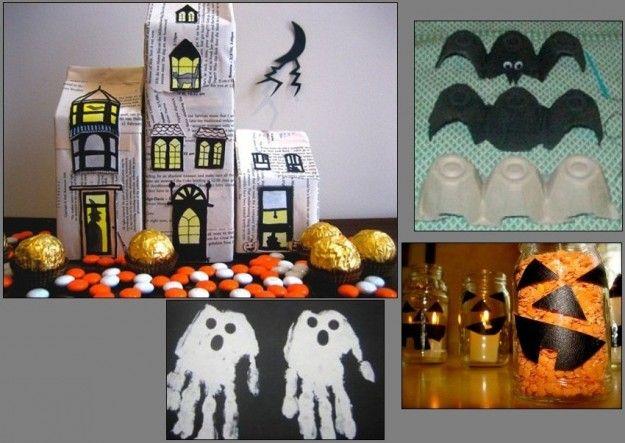Decorazioni di Halloween per bambini da acquistare già pronti o da realizzare con il fai da te, facendo appello alla propria creatività.
