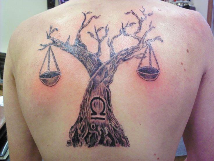 Libra Sign Tattoos | Justin Graves Tattoo: Trees