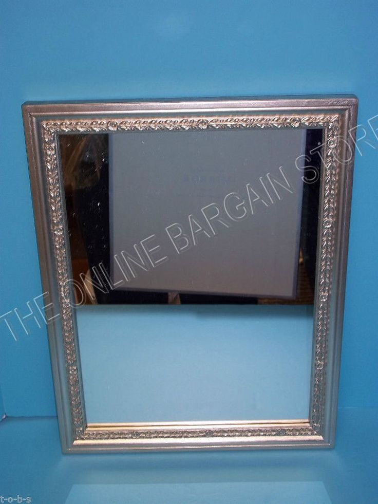 Pottery Barn Silver Leaf Keepsake Wall Bathroom Vanity