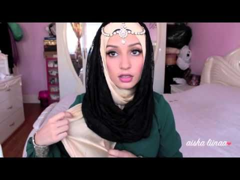 ▶ Two Wedding Hijab Tutorials - YouTube