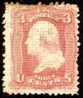 United States Stamp Values - Civil War Era and the 1869 Pictorials