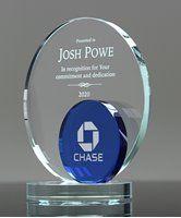 Show details for Blue Eclipse Crystal Award