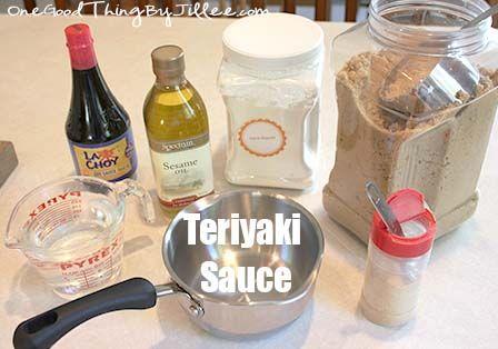 Easy Homemade {Gluten-Free} Teriyaki Sauce