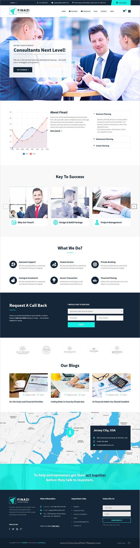 Finazi is a wonderful 8in1 responsive #WordPress theme for #corporate and finance websites download now➩ https://themeforest.net/item/finazi-business-finance-wordpress-theme/19174276?ref=Datasata