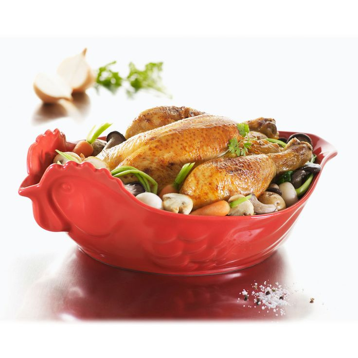 Zapékací miska ve tvaru slepice Happy Cuisine, Revol