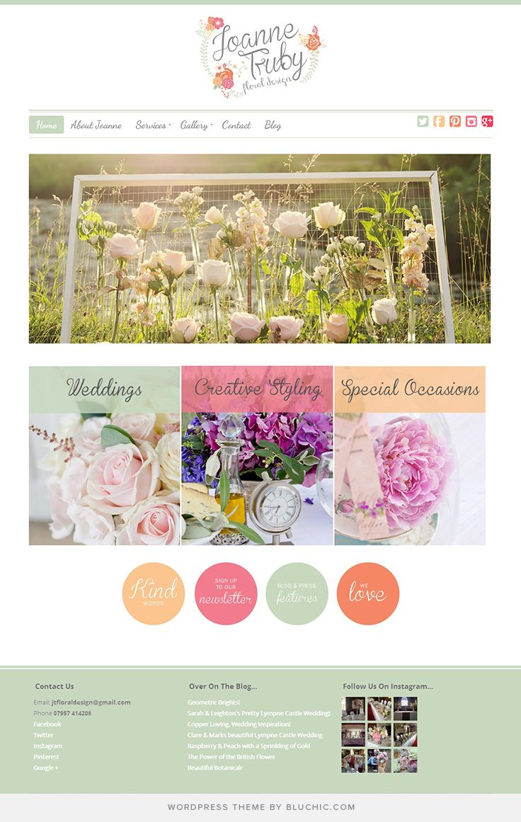 Use Chamomile Theme #WordPress. Shop at…