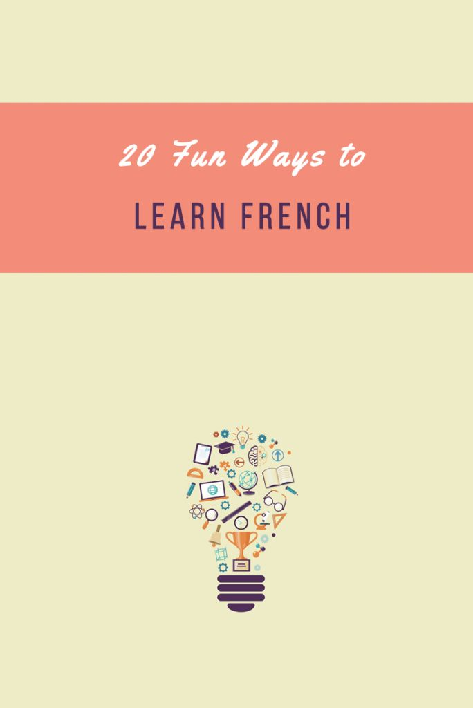 Think you're too busy to learn French? Think again! You can always squeeze in a lot of French during your day. Get tips here: https://www.talkinfrench.com/fun-ways-learn-french/