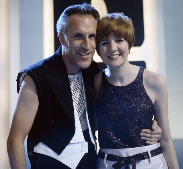Bruce Forsyth pictured with the singer Cilla Black on the television series 'The Bruce Forsyth Show' in 1966