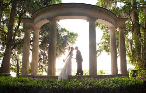 Kraft Azalea Gardens at Winter Park FL // central florida wedding venues