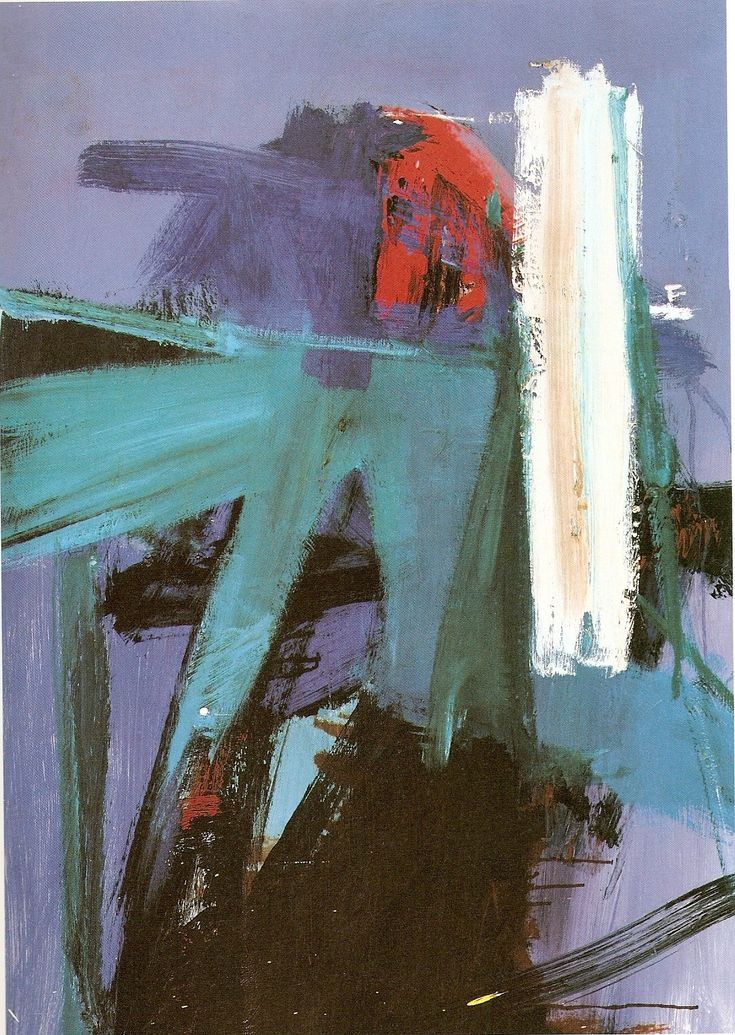 Franz Kline. Blueberry Eyes.