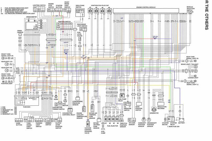 Diagram Yamaha R1, Yamaha R1 Wiring Diagram