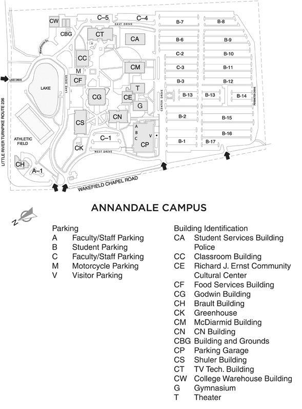 Map Was Nova Woodbridge Campus