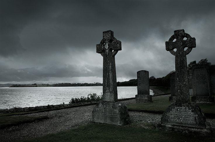 Cemetery, Cimitero, Friedhof, Ardchattan Scotland, Schottlöand