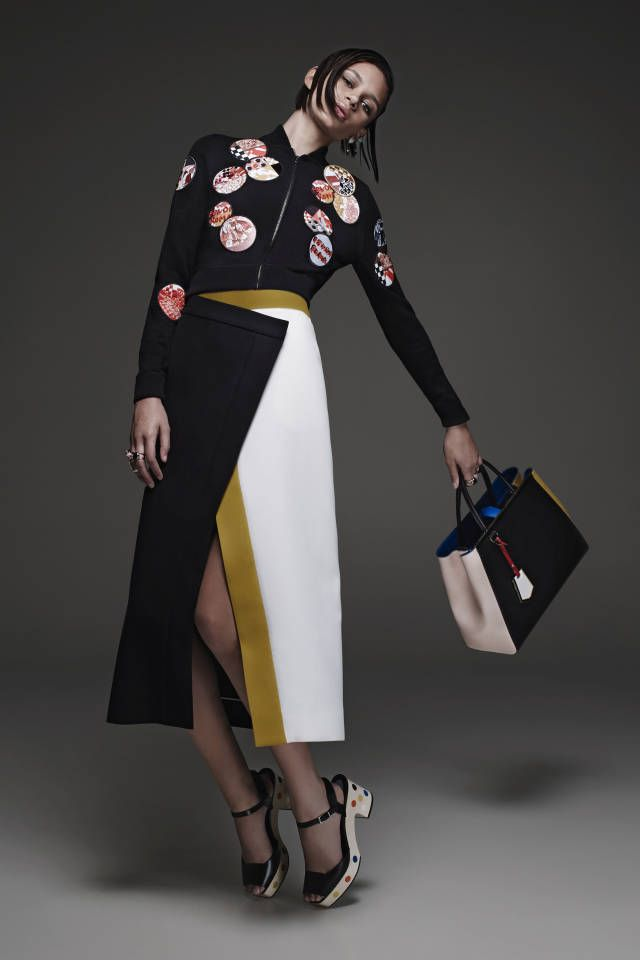 Fendi Resort 2015. See all the best looks here.