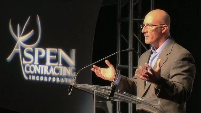 Jim Cantore - Mississippi, The Forgotten Coast by Don't Mind Me TV. Weather Channel host Jim Cantore speaks at the Grand Opening Of Aspen Contracting's new world headquarters near Kansas City, Missouri.